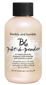 dry shampoo powder travel bumble and bumble