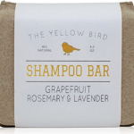solid shampoo bar option for travel