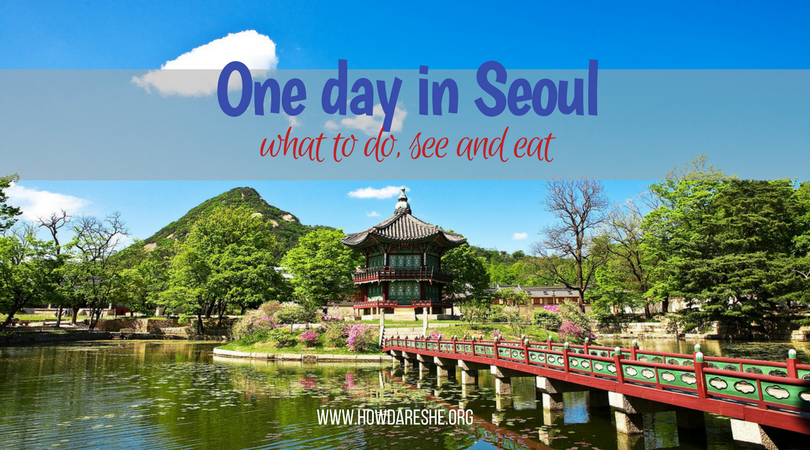 one day in seoul