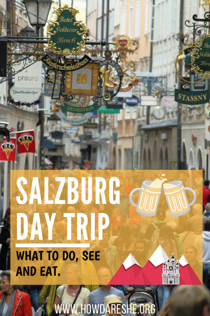 One day in Salzburg guide