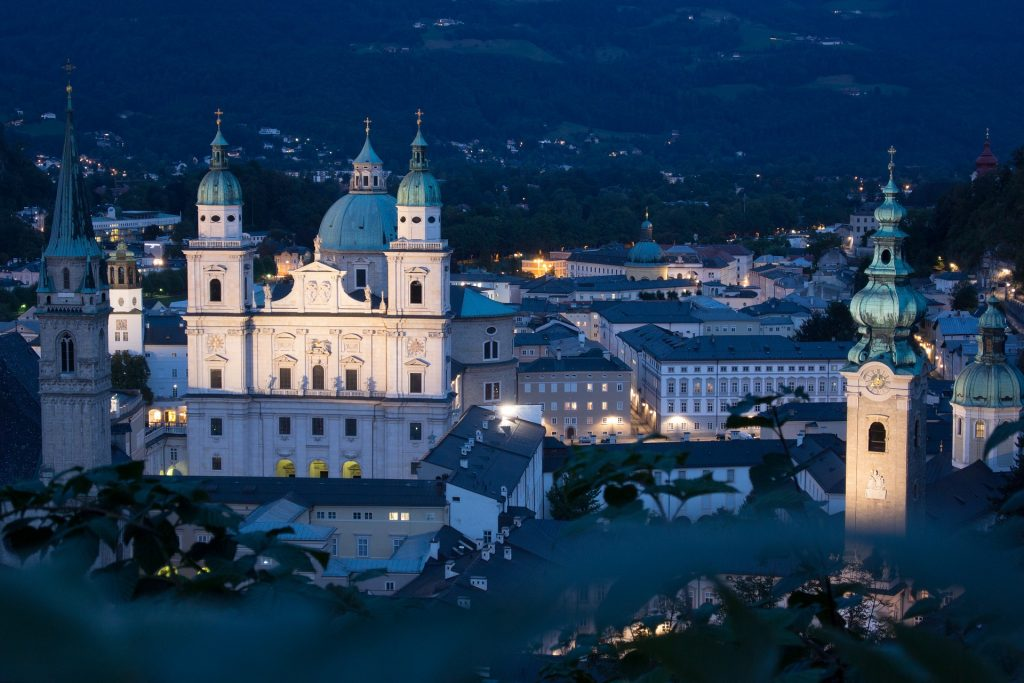 Salzburg Cathedral and St Peters Abbey