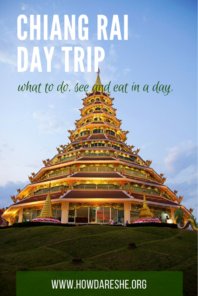Want to see the White Temple in Chiang Rai? There's more to see! Here's what to do, see and taste on a Chiang Rai day trip.