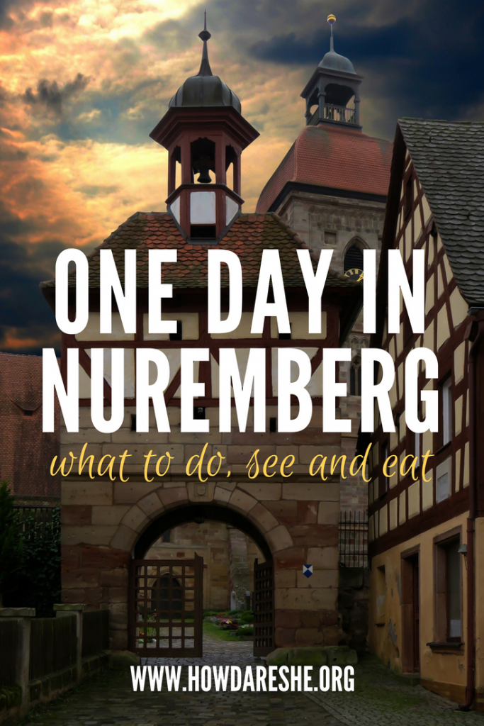 Nuremberg is a small, walkable city in Germany, filled with history and culture. Easily accessed by plane and train, visitors in the area should make a Nuremberg day trip a priority. Whether you're interested in learning more about this history in museums, walking the streets to get a feel for what it used to be like or want to do that all while snacking on traditional Bavarian food, this city is perfect. This guide has everything to do, see and eat with one day in Nuremberg.