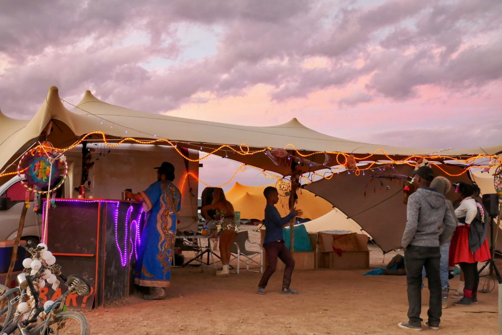 Theme camp Afrikaburn 2018; Tankwa, Karoo, South Africa