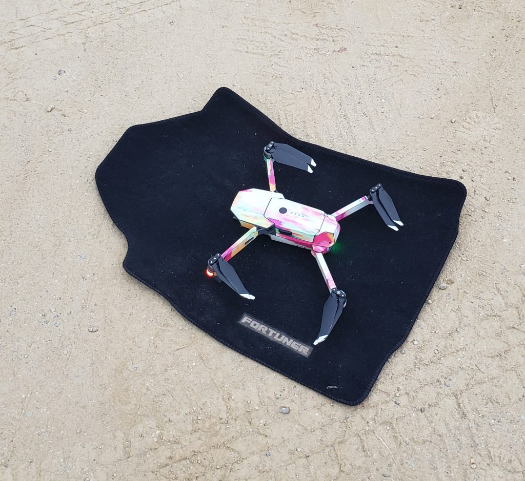 drone travel accessories launchpad
