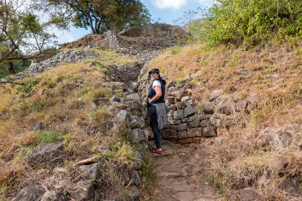 Visiting Great Zimbabwe National Monument hike to Hill Complex