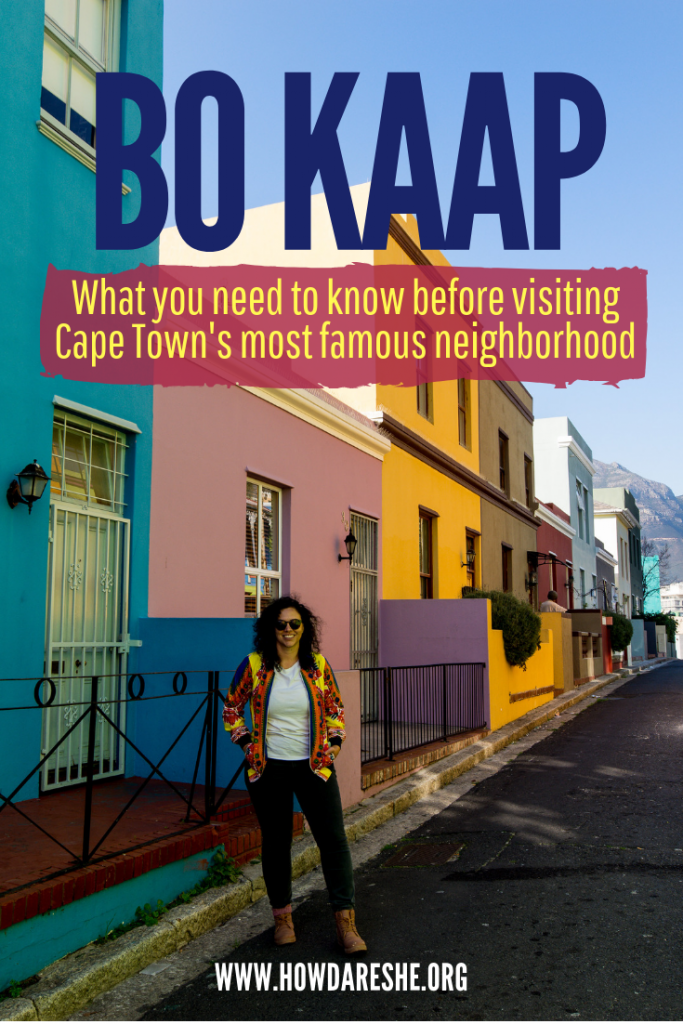Bo-Kaap is probably Cape Town's best-known neighborhood, at least to outsiders. The bright colors are fun and great for pictures, but neither its history nor its present is as delightful. The neighborhood was built for slaves, survived apartheid, got its color in the 90s and faces gentrification today. The problem is, as people's homes become a tourist attraction, how do you make sure the community benefits?