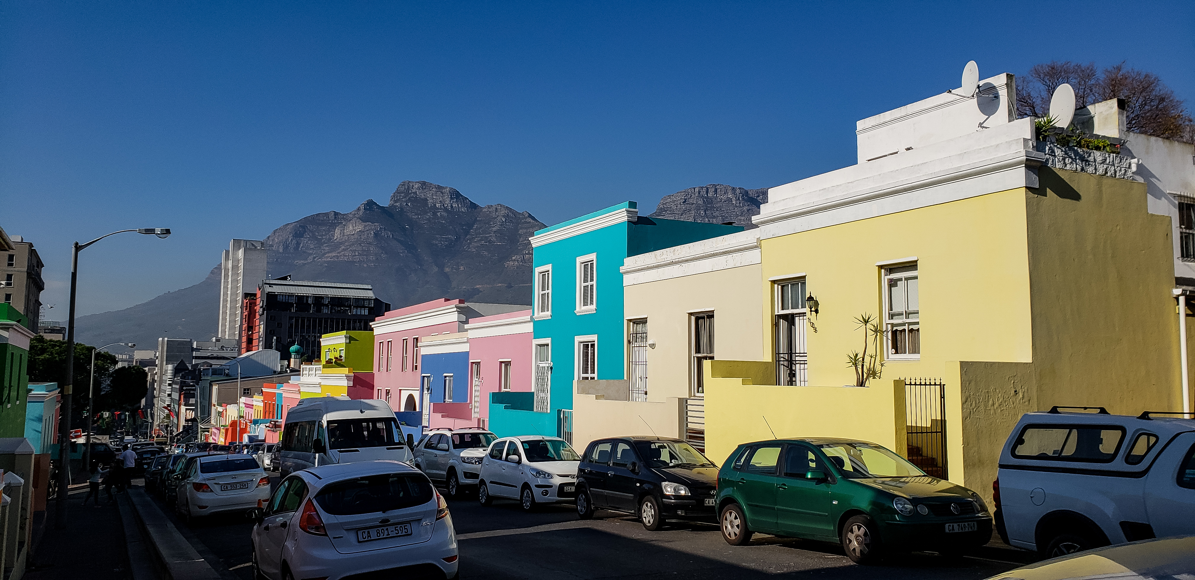 Why are Bo Kaap houses colorful? Cape Town, Western Cape, South Africa