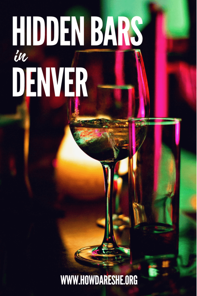 Colorado might be best known for beer, but there is no shortage of hidden bars and neo-speakeasies in Denver. These are the ones that are worth finding (and how to find them). #cocktails #denver #colorado #bars