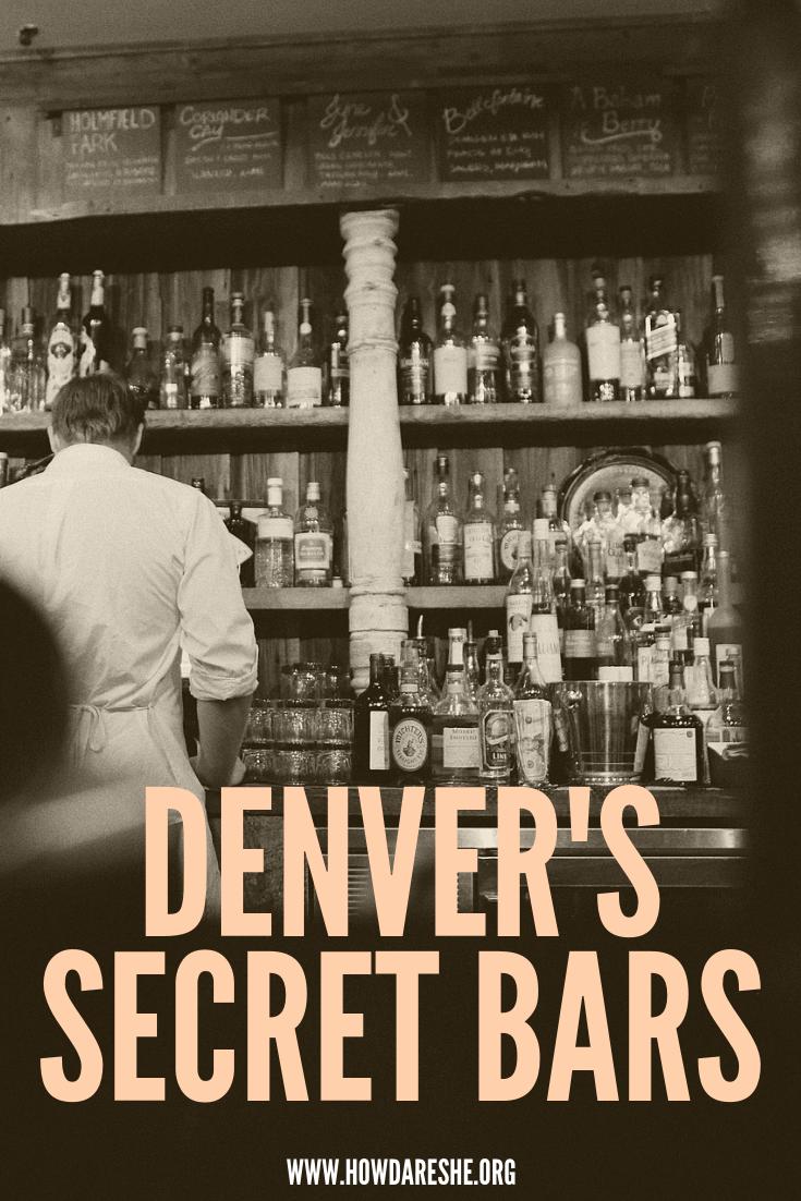 Hidden bars and neo-speakeasies in Denver