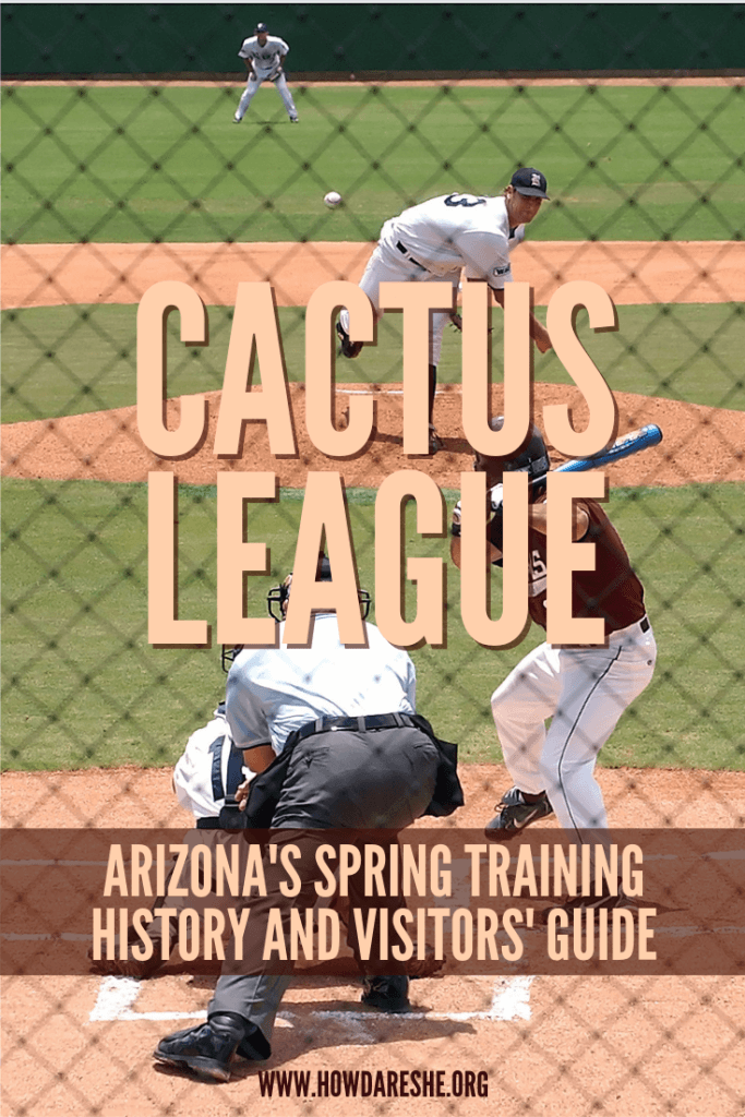 Every year about 2 million people head to Cactus League stadiums for spring training in Arizona. Here's everything you know to plan a great visit. #arizona #springtraining #baseball #travel