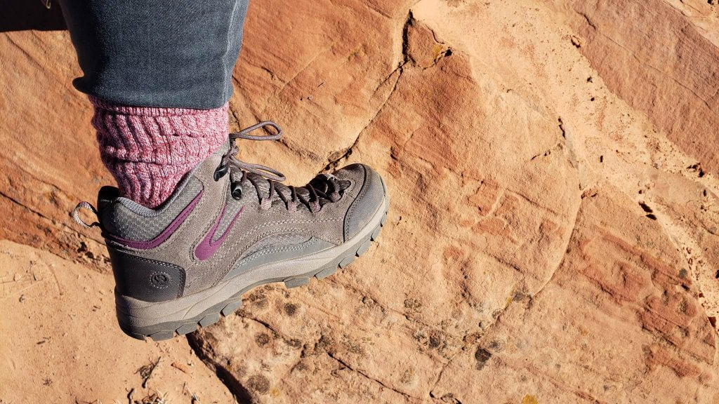 Hiking boots for Coyote Buttes