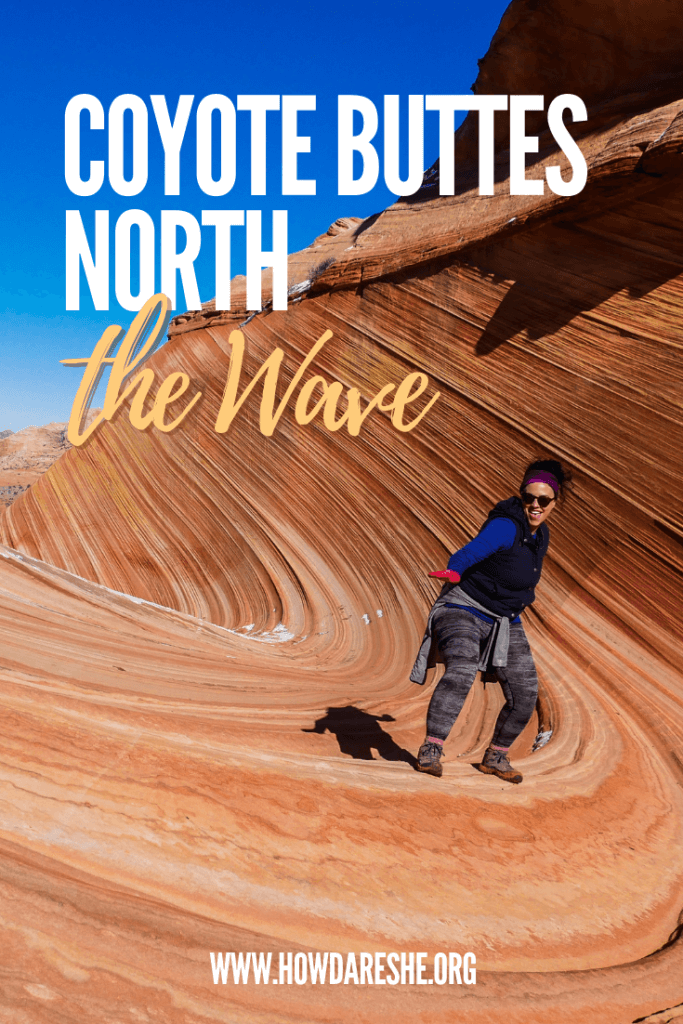 The Wave in Arizona is in Coyote Buttes North and is one of the most beautiful and pristine hikes in the country. Permits are required and strictly enforced. Visitors to Kanab or Page will be absolutely treated for their efforts to explore the Paria Canyon-Vermillion Cliffs Wilderness. This guide has everything you need to know to plan a visit. #arizona #northernarizona #thewave #coyotebuttes