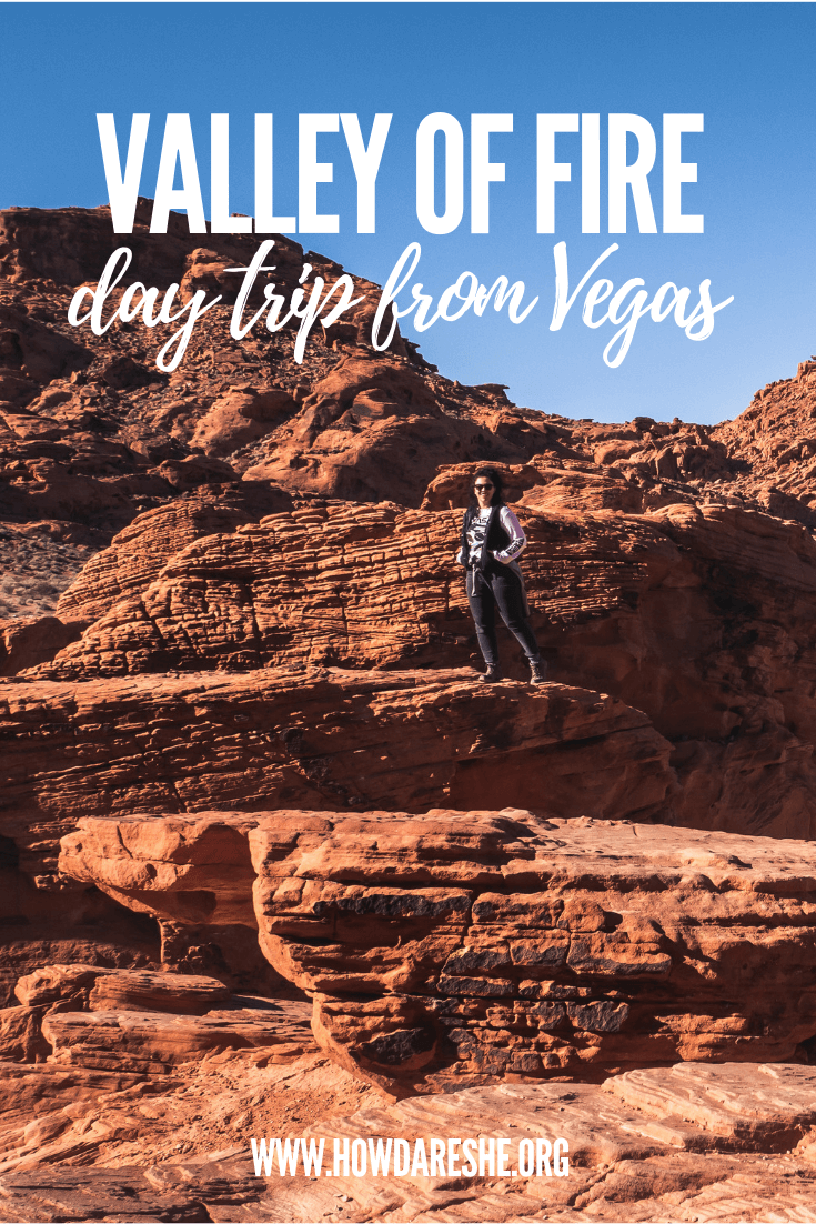 Nevada\'s biggest and oldest state park is the Valley of Fire. Las Vegas being just 50 miles away, the park is a great day trip to get out and explore. This guide covers what to see and do, park history and all the best hiking trails.  #vegas #valleyoffire #nevada #statepark