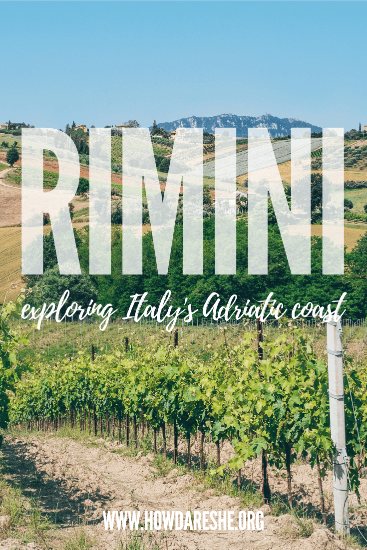 Visiting Rimini - outdoor activities and more beyond the beach