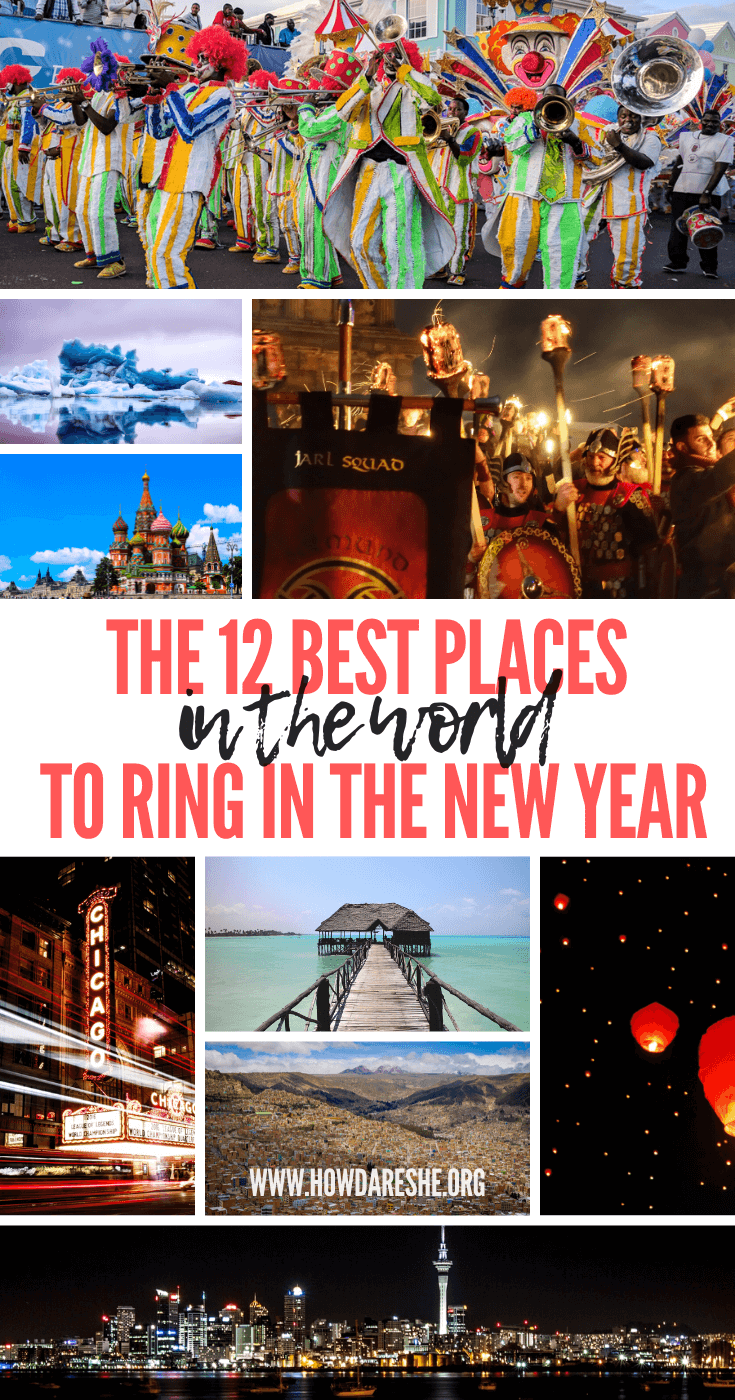 The 12 best cities in the world to celebrate New Year\'s Eve
