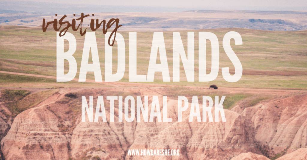 Badlands National Park, South Dakota is one of the most distinct parks in the US. Located in the middle of the Northern Great Plains, the Badlands' 244,000 acres of landscapes include interesting rock formations and grasslands, wildlife, fossils and storied human history.