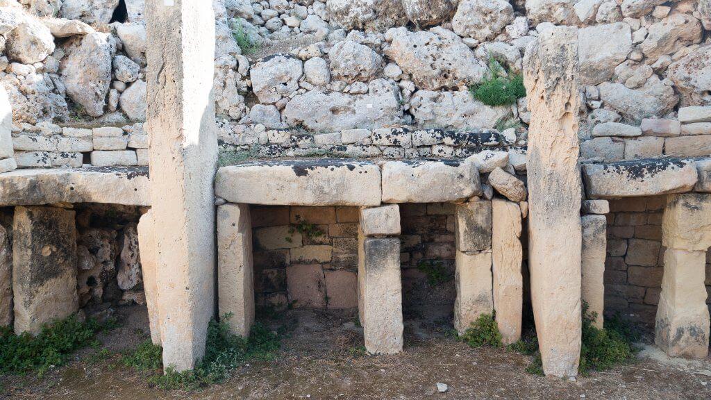 megalith ruins in gozo malta