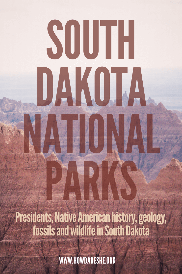 South Dakota National Parks, Monuments and Memorials