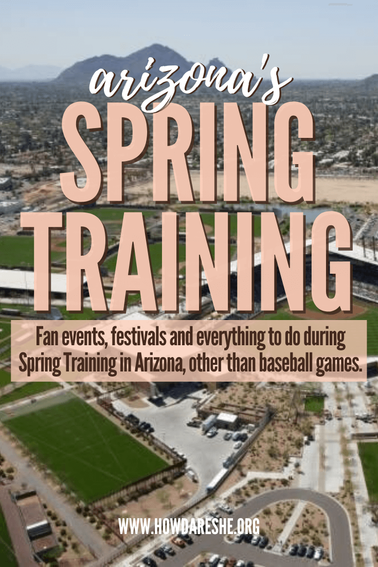 Baseball and other events and festivals during Cactus League spring training in Arizona